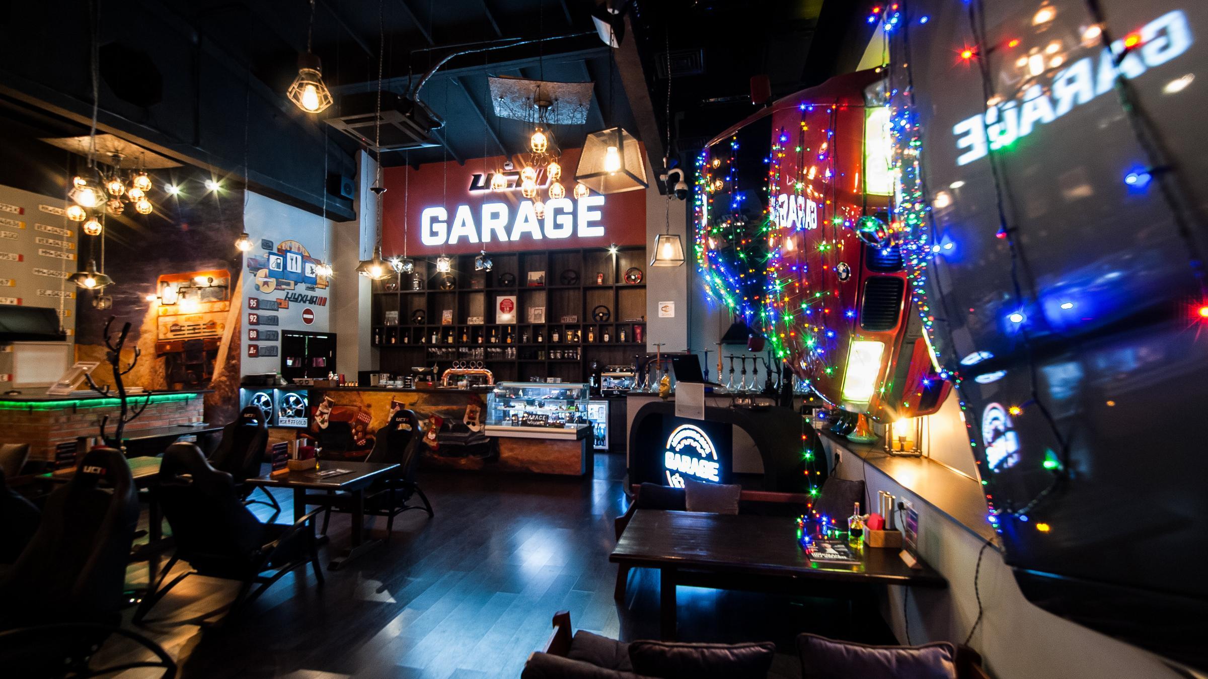 фотография Лаундж-бара uct Garage на Бережковской набережной