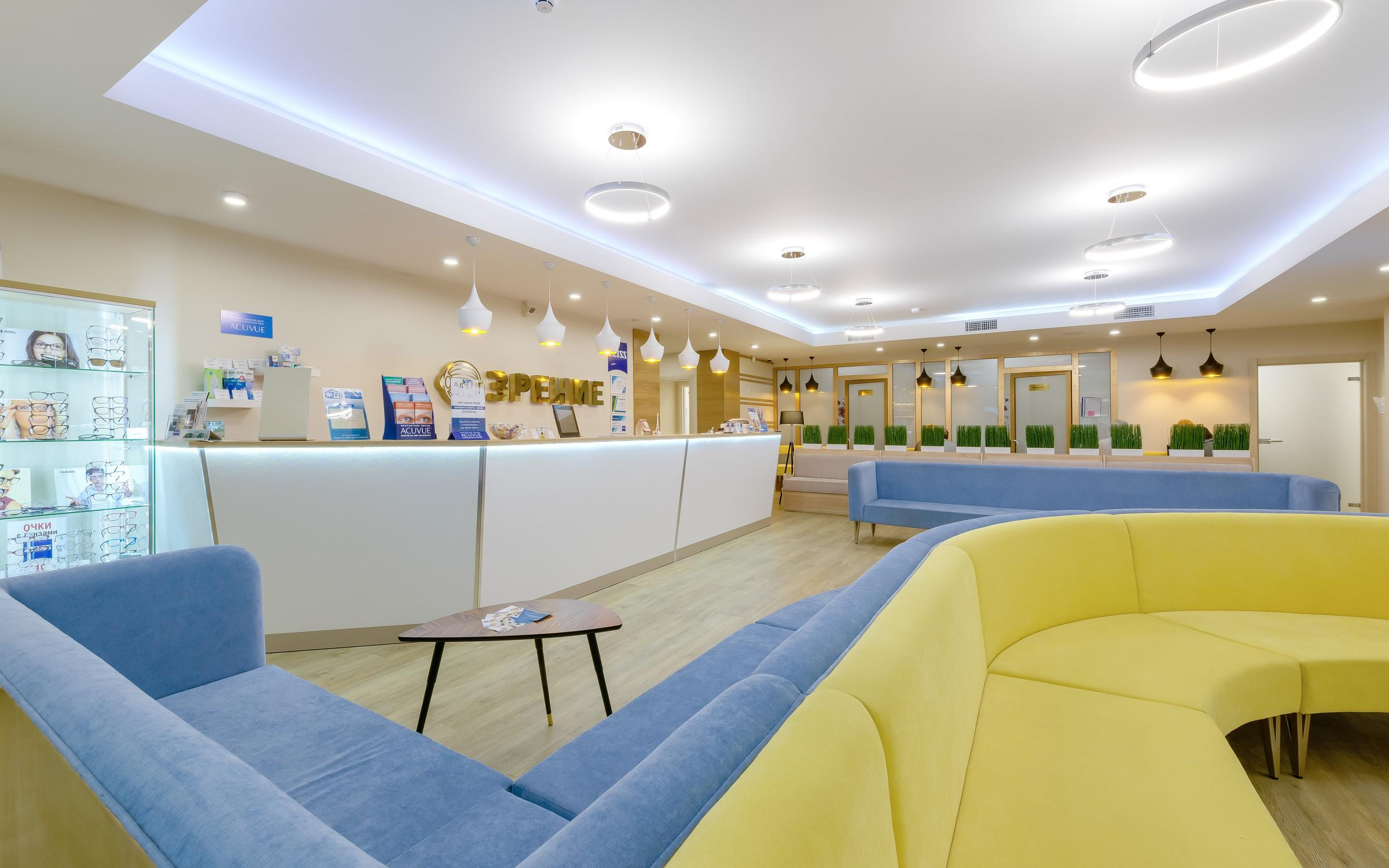 фотография Офтальмологического центра ЗРЕНИЕ на метро Крестовский остров