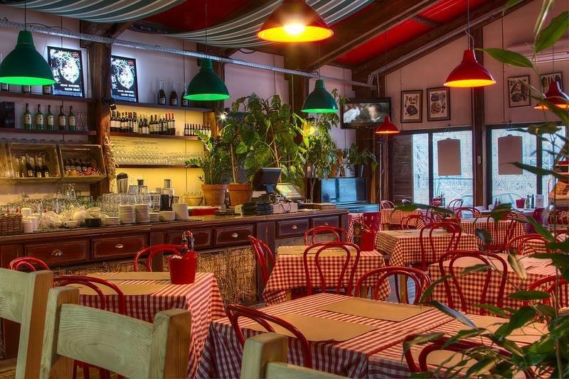 фотография Сеть итальянских кафе Меркато в парке Горького