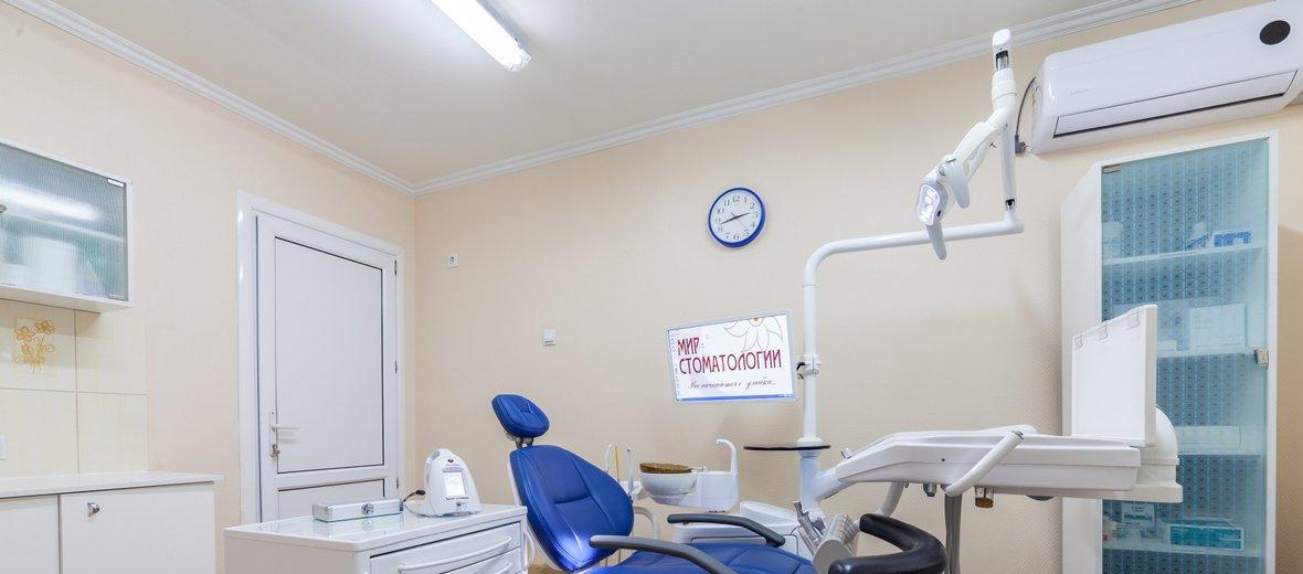 Фотогалерея - Мир стоматологии на улице Новосёлов