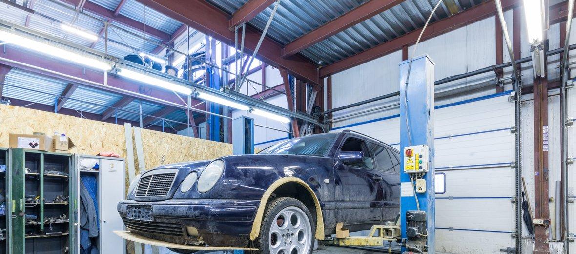 Фотогалерея - Центр кузовного ремонта Автоцвет на улице Свободы, 1 к 6