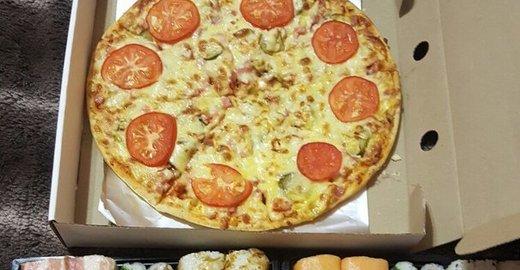 фотография Службы доставки Пицца да Суши от Ванюши в Марсовом переулке в Мирном