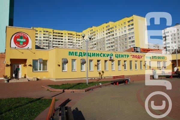 Медицинские центры на карте минска