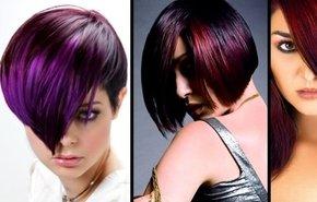 фотография Окрашивание коротких волос