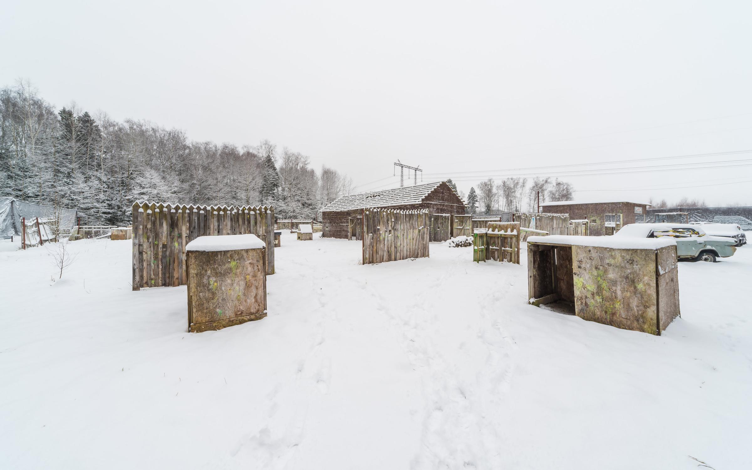 фотография Пейнтбольного клуба Пейнтленд база Альфа-Север в Юрьево