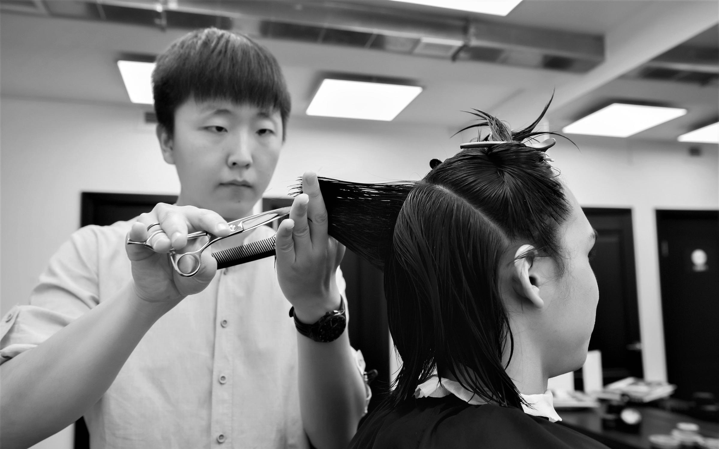 фотография Мужской парикмахерской Аляска на метро Сокол
