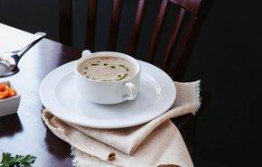 фотография Крем-суп из шампиньонов