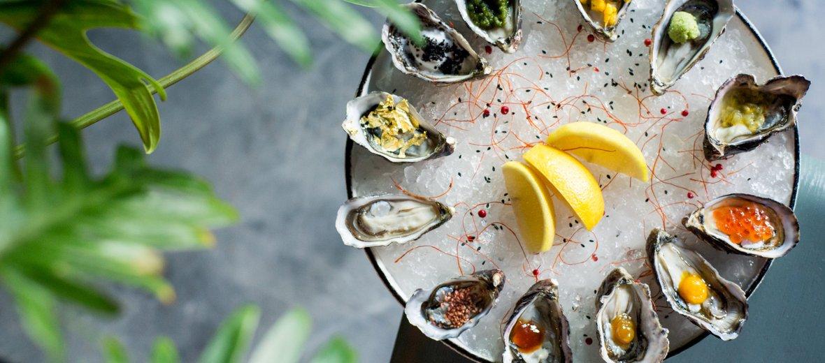 Фотогалерея - Устричный бар Lure Oyster Bar