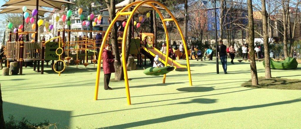 фотография Детская площадка в ТРЦ Мандарин