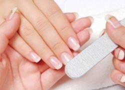 фотография Коррекция формы ногтей