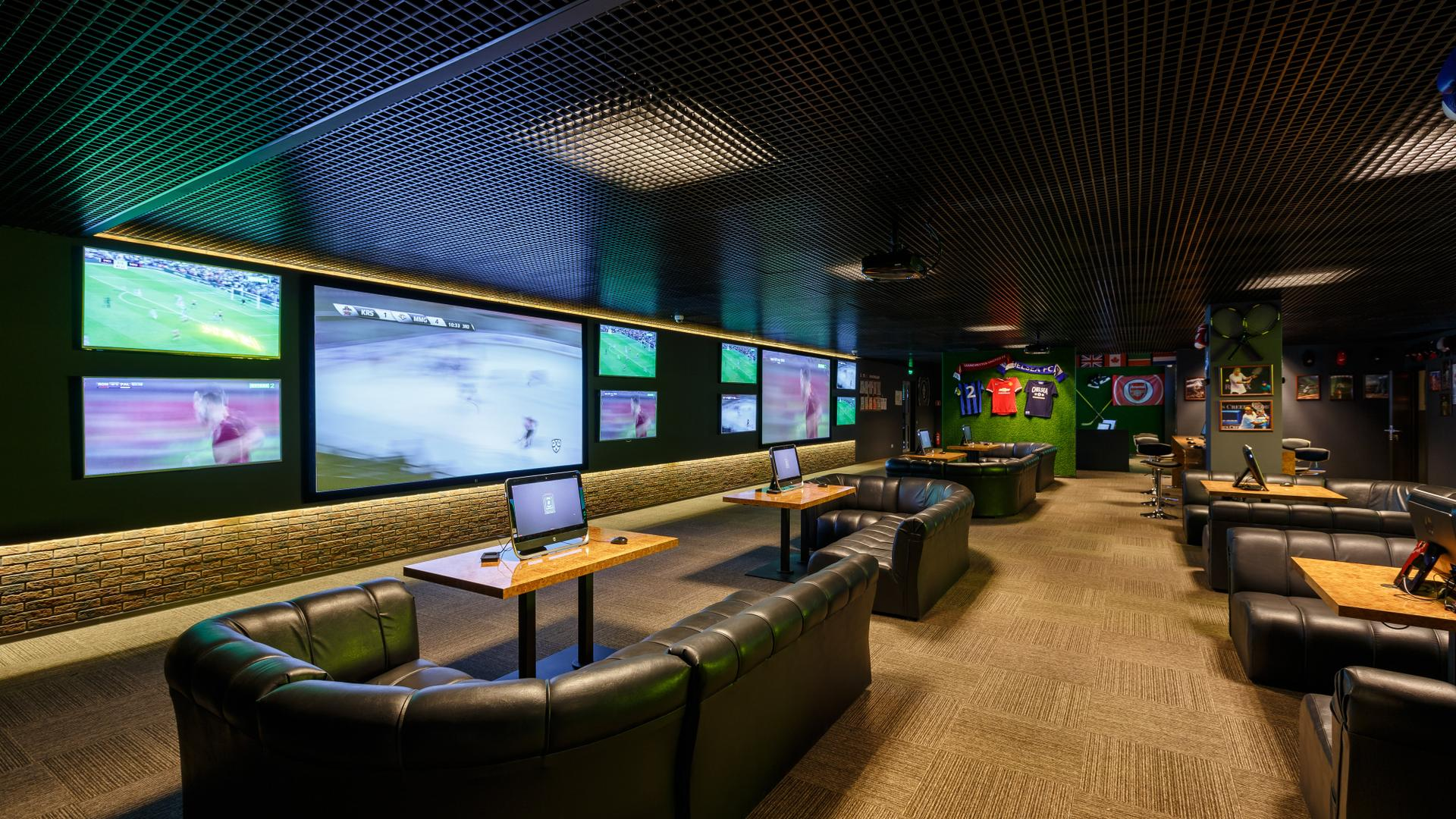 Спорт бары в Казани - спортивные бары, адреса, контакты, фото