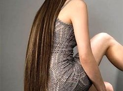 фотография Капсульное (горячее) наращивание волос
