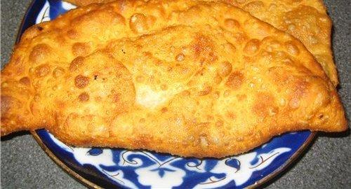 Настоящие чебуреки рецепт с фото пошаговый