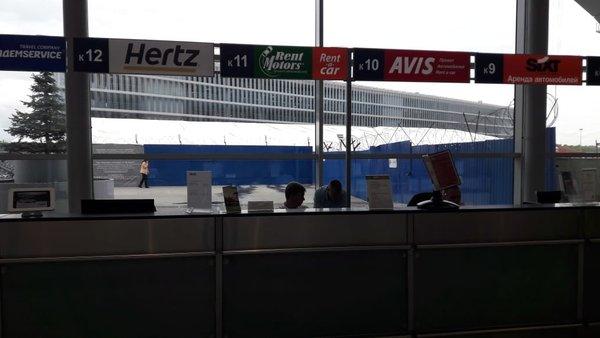 14fda7ed3 Компания по аренде автомобилей Hertz в Домодедово - отзывы, фото ...