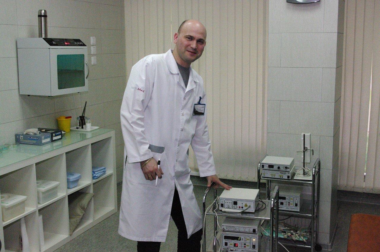 Прием у российского гинеколога 4 фотография