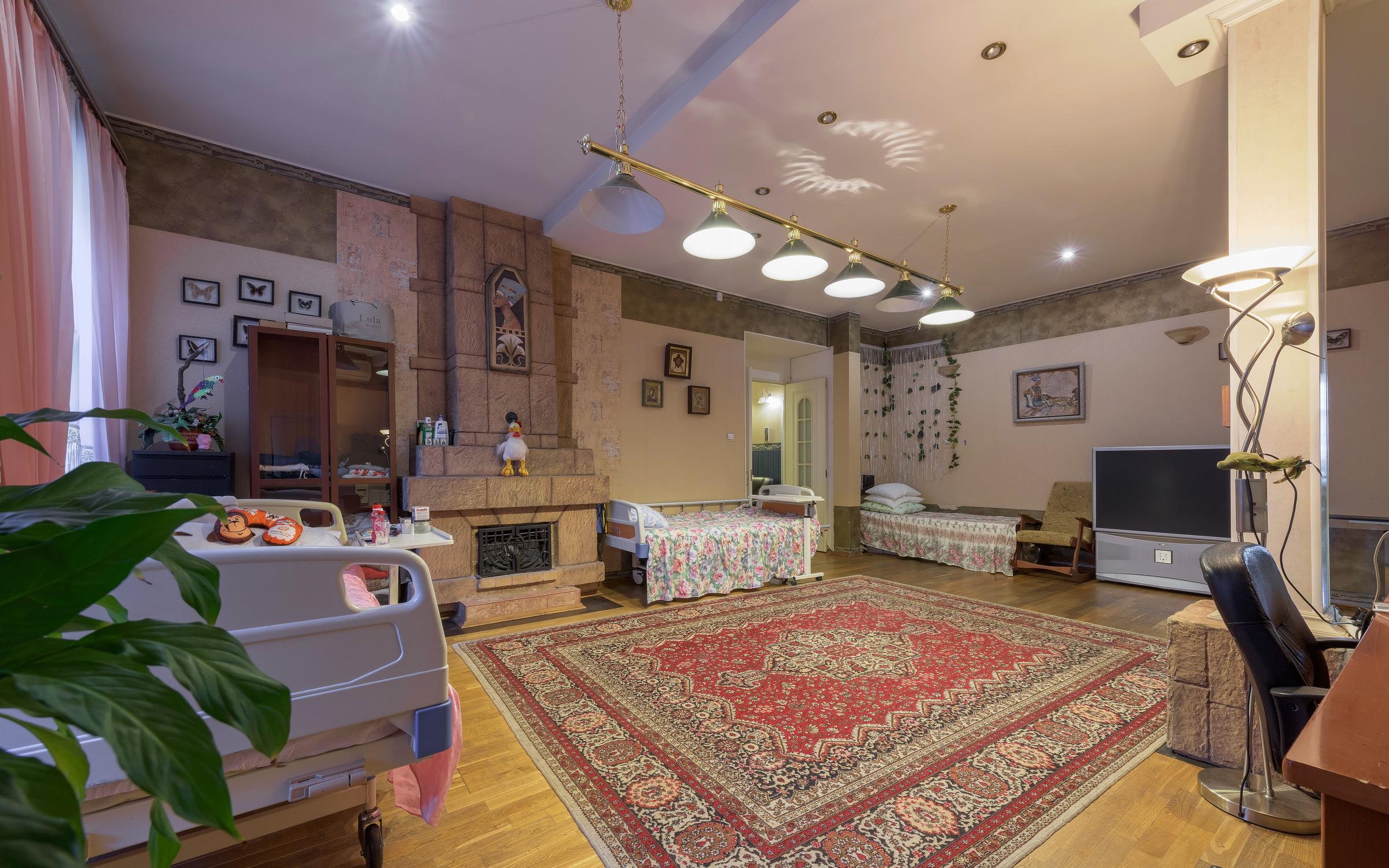 Дом престарелых и пансионат для пожилых людей «Милорадово» в Москве