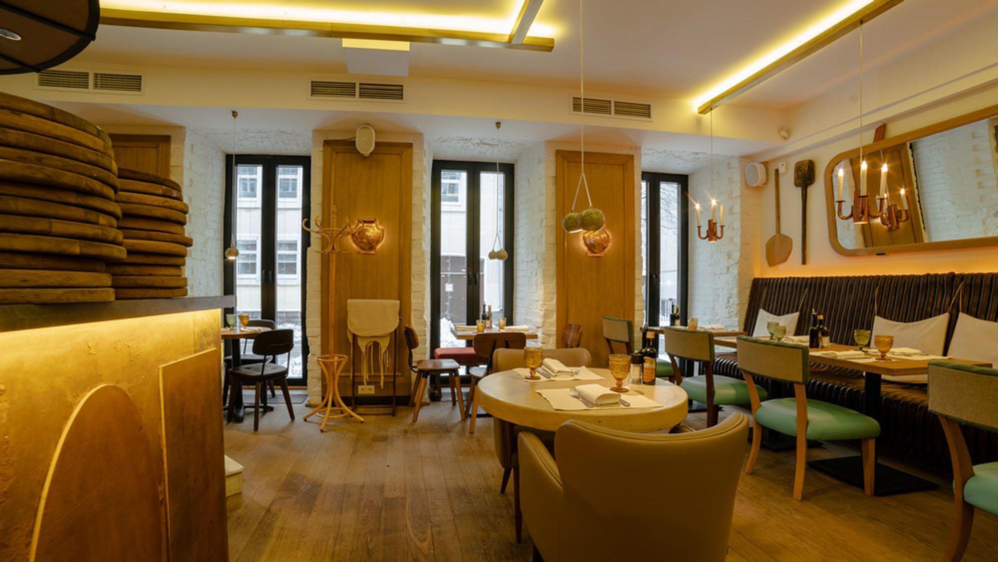 фотография Итальянского ресторана BOCCONCINO в Большом Патриаршем переулке