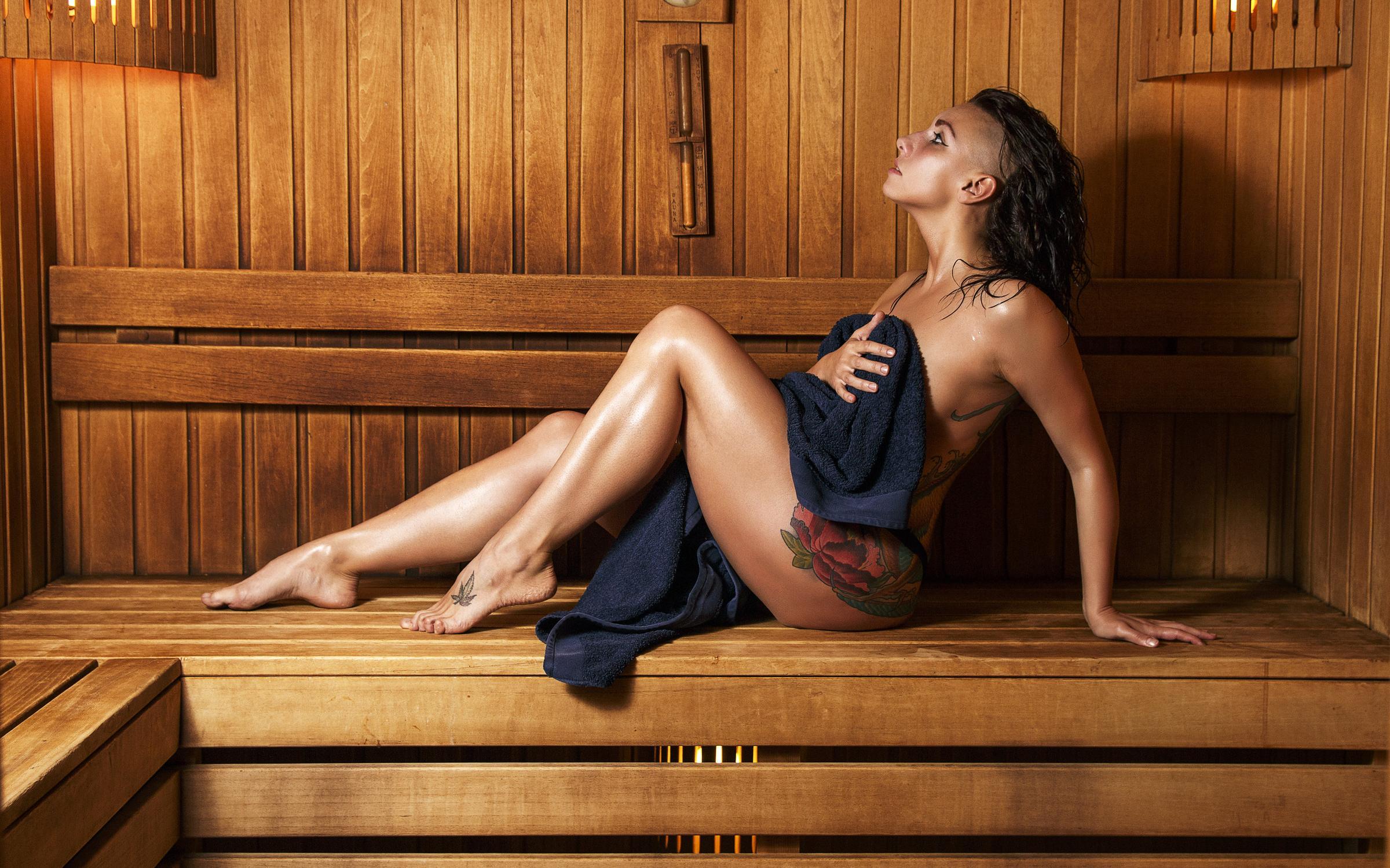 Фото телки в бани