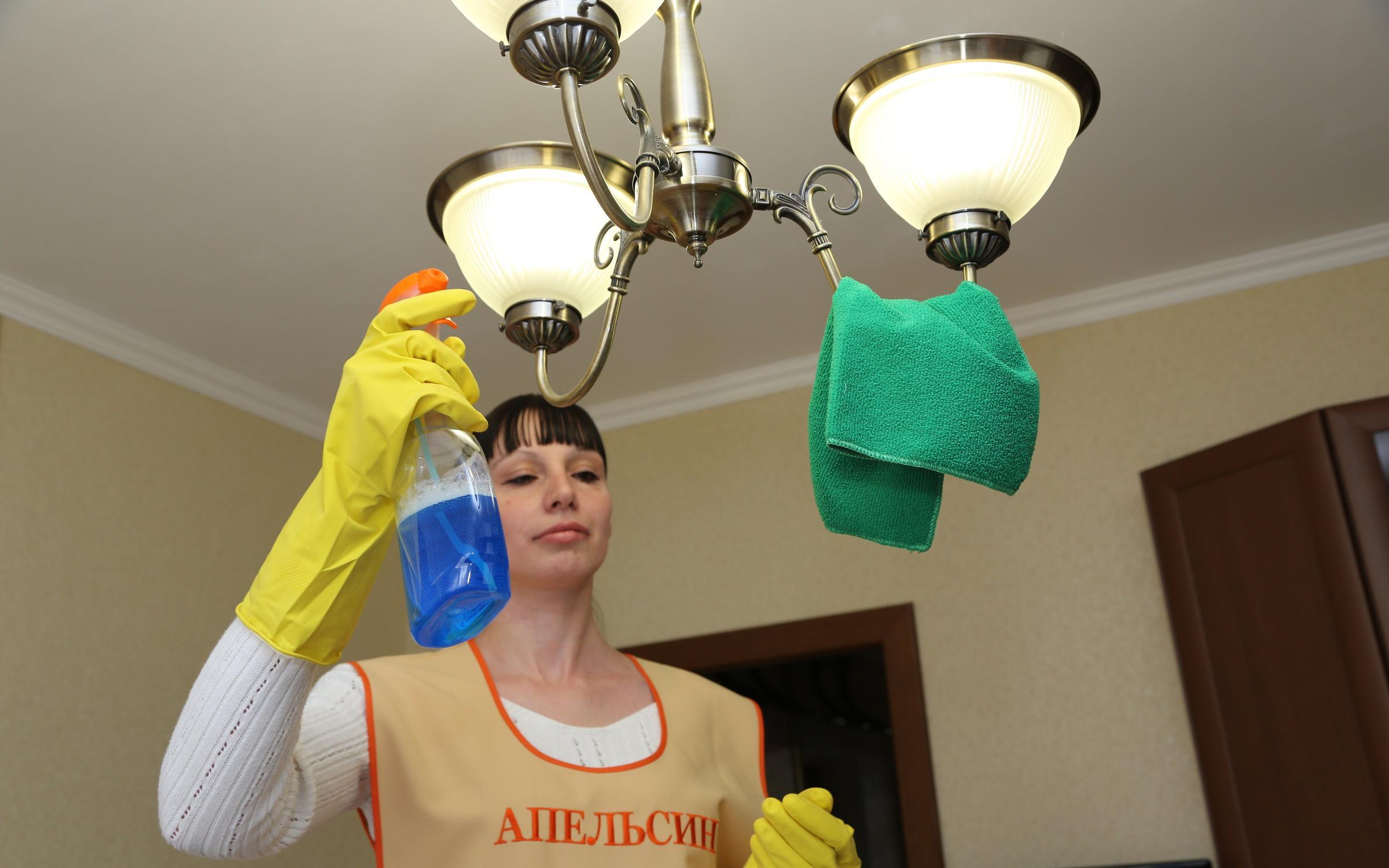 фотография Клининговой компании Апельсин