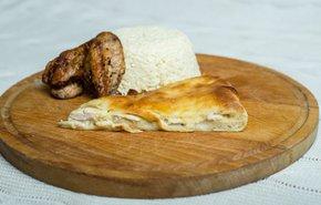 фотография Осетинский пирог с сыром