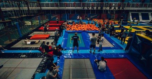 фотография Батутный развлекательный центр Внебопарк в ТД Эталон