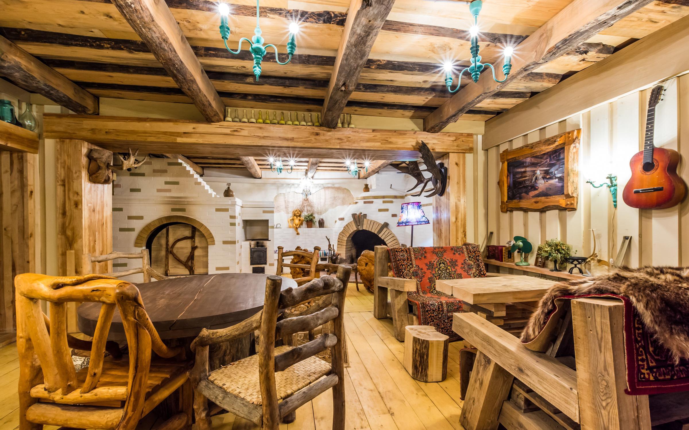 фотография Русские бани на дровах в шале-отеле Таёжные дачи