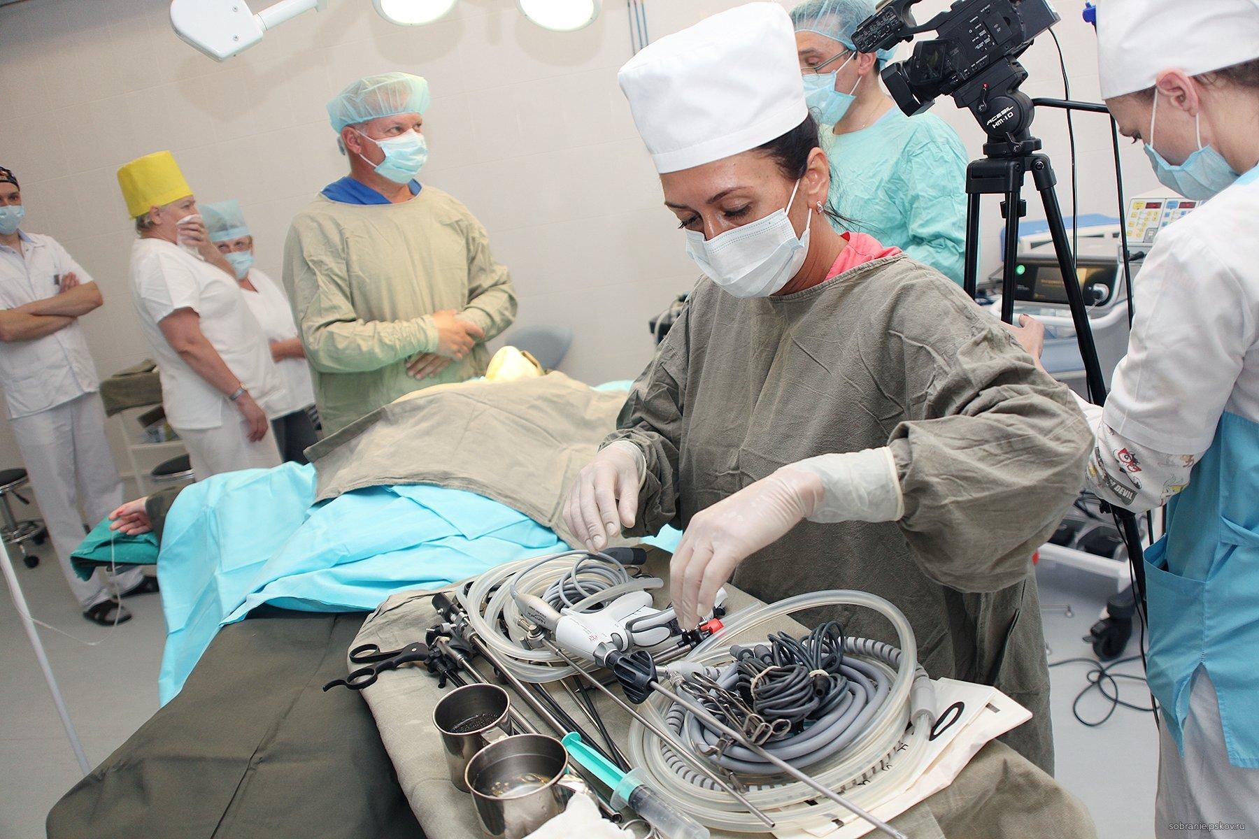 фотография Псковская областная больница