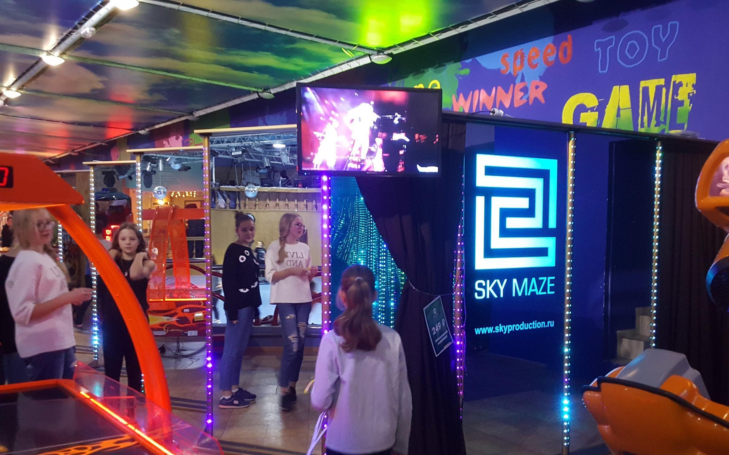 фотография Зеркальный лабиринт Sky Maze в Холодильном переулке