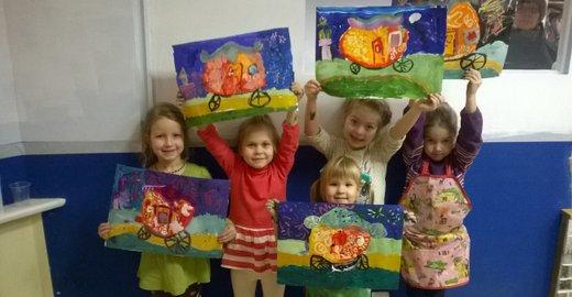 фотография Сеть художественных студий для взрослых и детей Палитра на Таллинской улице
