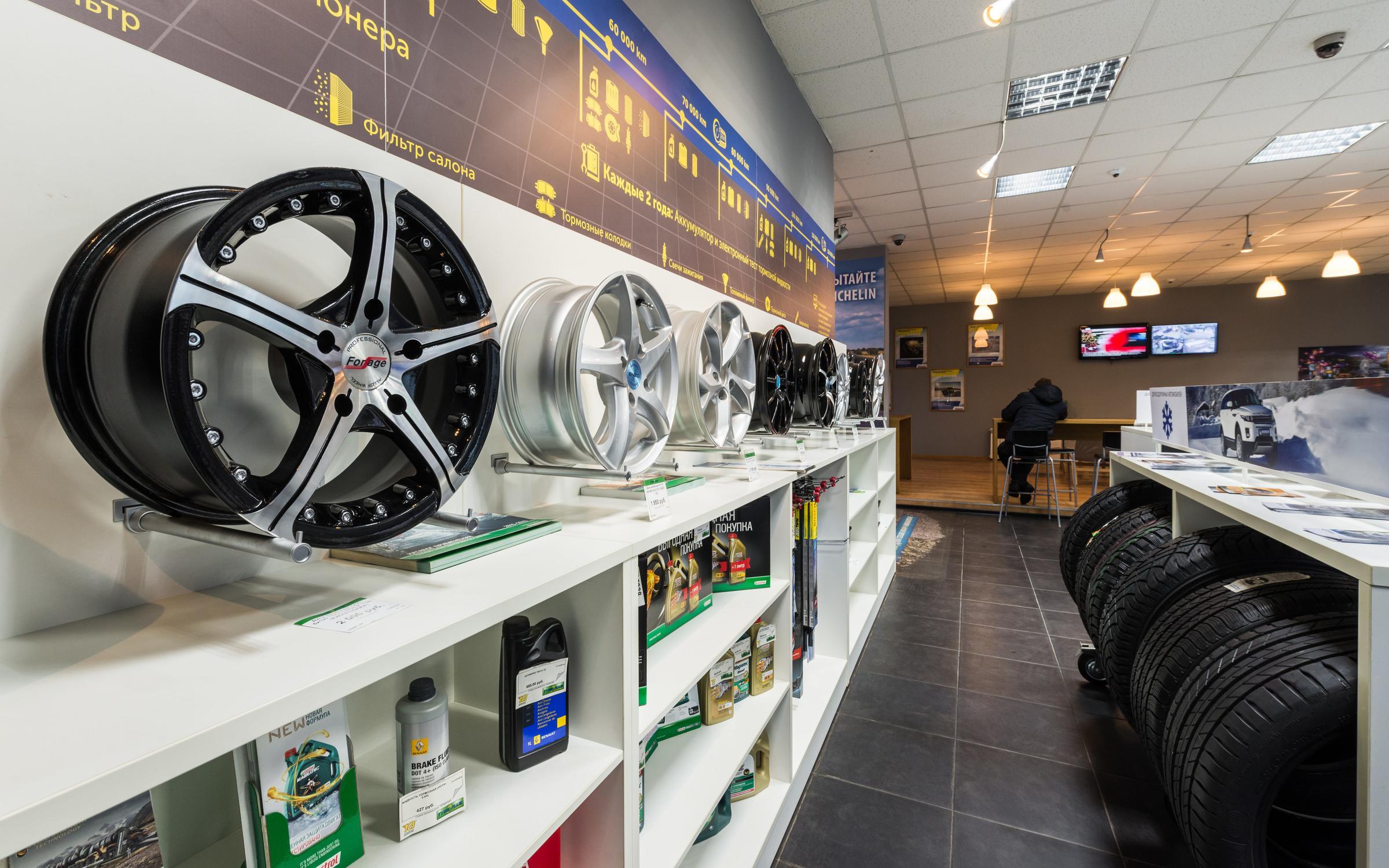 фотография Шинного и сервисного центра Мichelin TyrePlus на Митрофаньевском шоссе