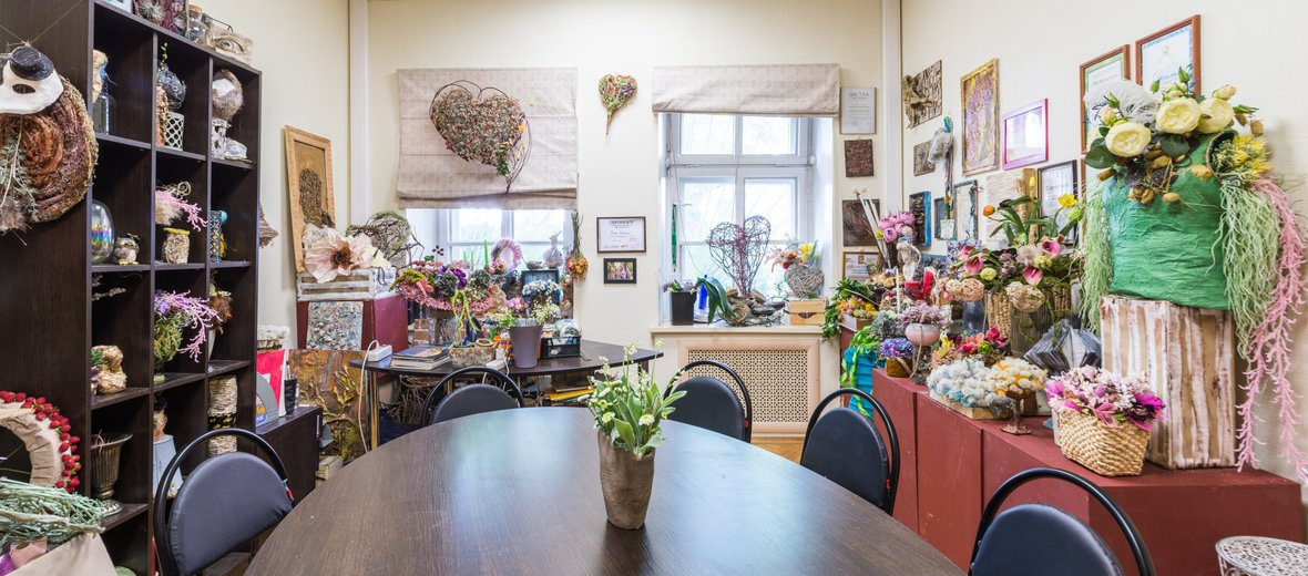 Фотогалерея - Школа флористики Primavera в Глинищевском переулке