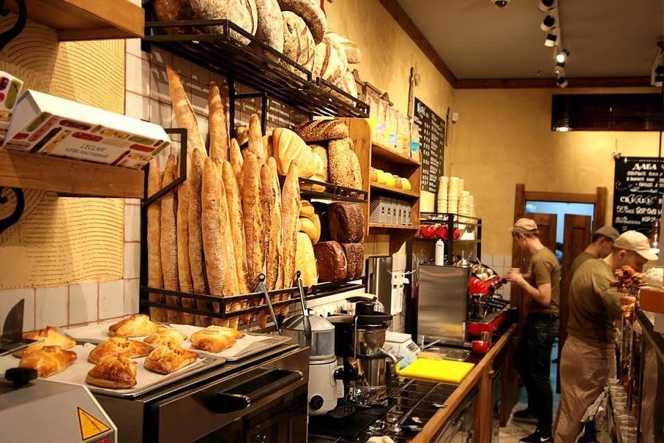 фотография Кафе-пекарни Хлеб Насущный на Зубовском бульваре