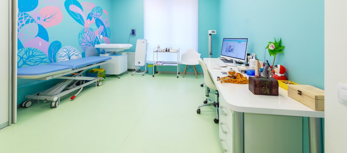 Фотогалерея - Детский медицинский центр Lahta Junior на метро Старая Деревня