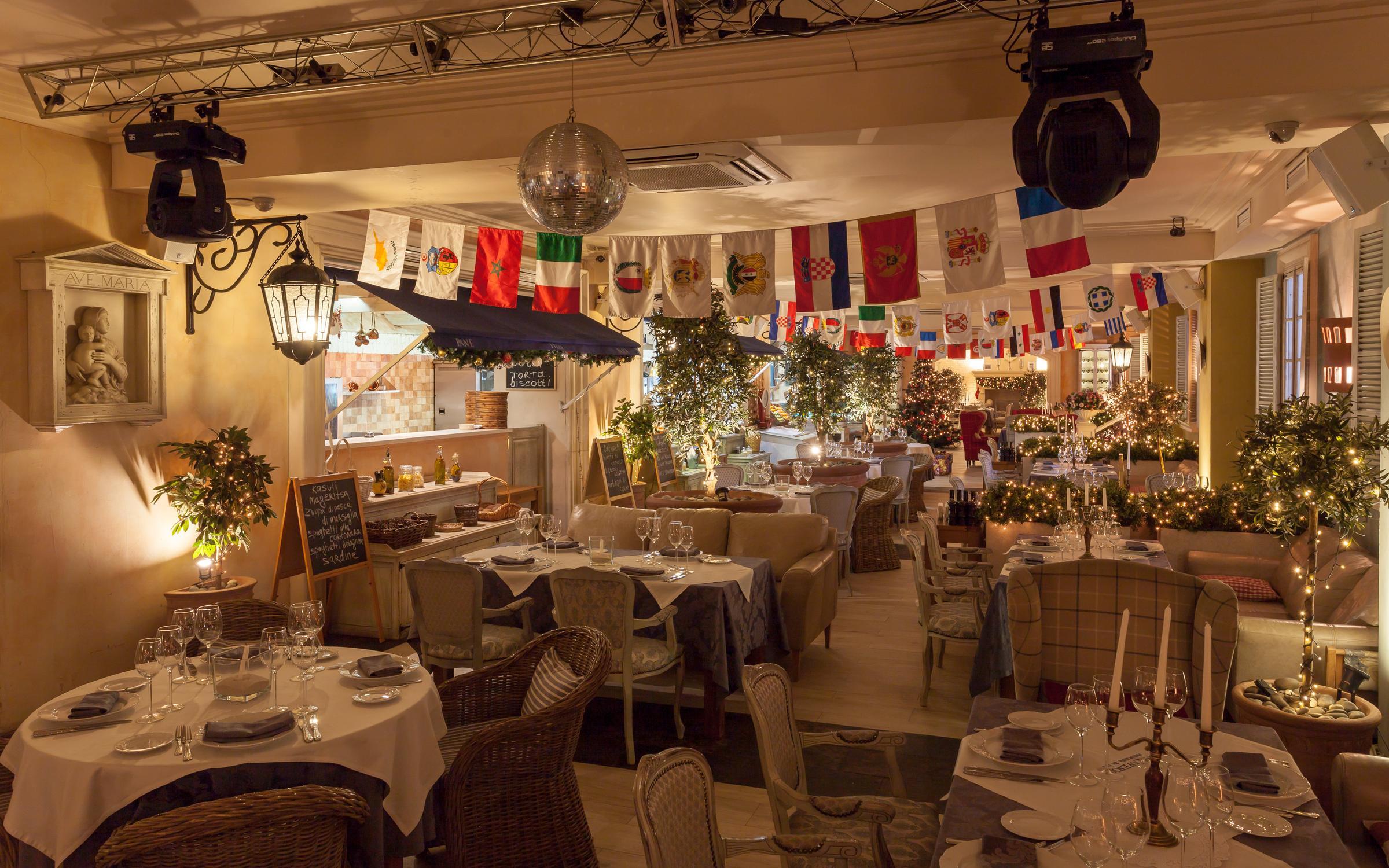 фотография Ресторана La Taverna в Шмитовском проезде на метро Улица 1905 года