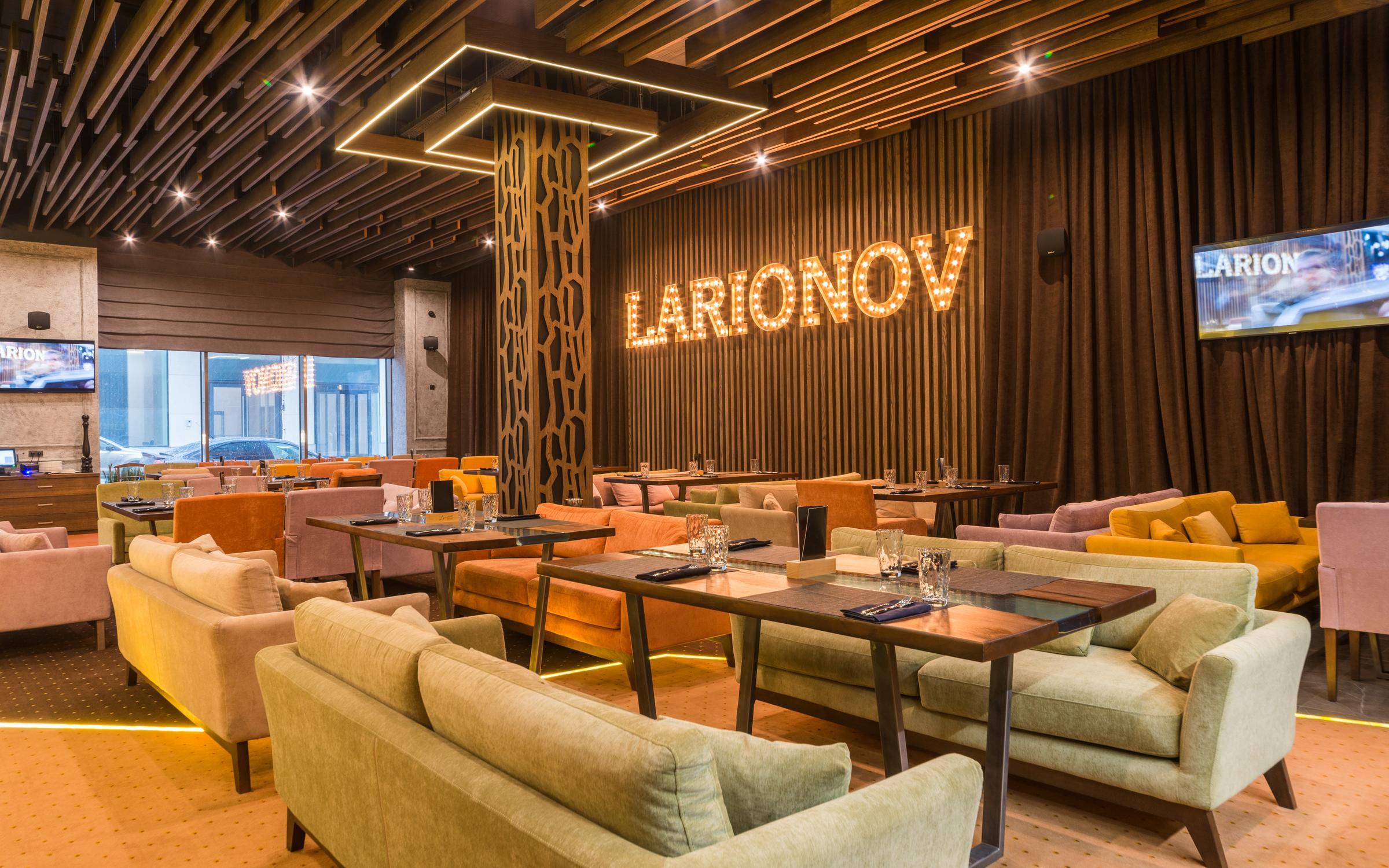 фотография Larionov Restaurant на Ленинградском проспекте