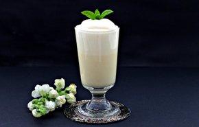 фотография Ванильный молочный коктейль