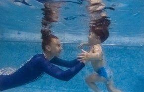 фотография Обучение детей плаванию