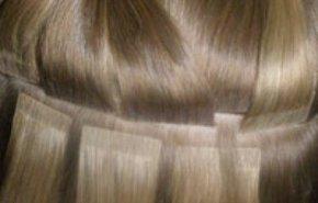фотография Холодное (ленточное) наращивание волос