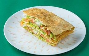 фотография Сэндвич с лососем