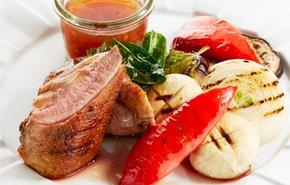 фотография Утка с овощами