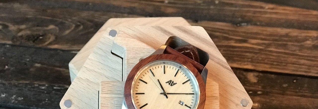 фотография Магазина наручных часов из дерева AA Watches на улице Судакова
