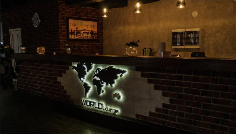 фотография Кальян-бара World Lounge на Ферганской улице