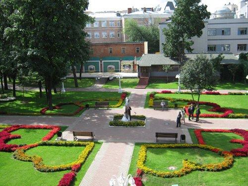 фотография Парка культуры и отдыха Эрмитаж на улице Каретный Ряд