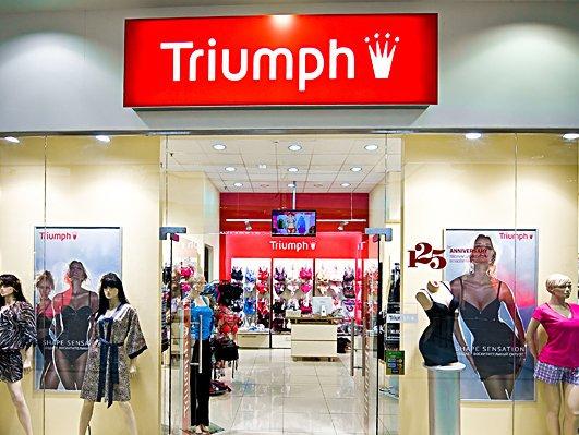 магазин нижнего женского белья триумф