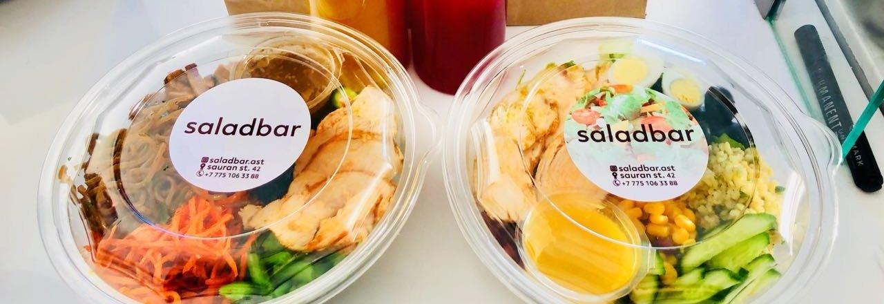 фотография Кафе быстрого питания saladbar