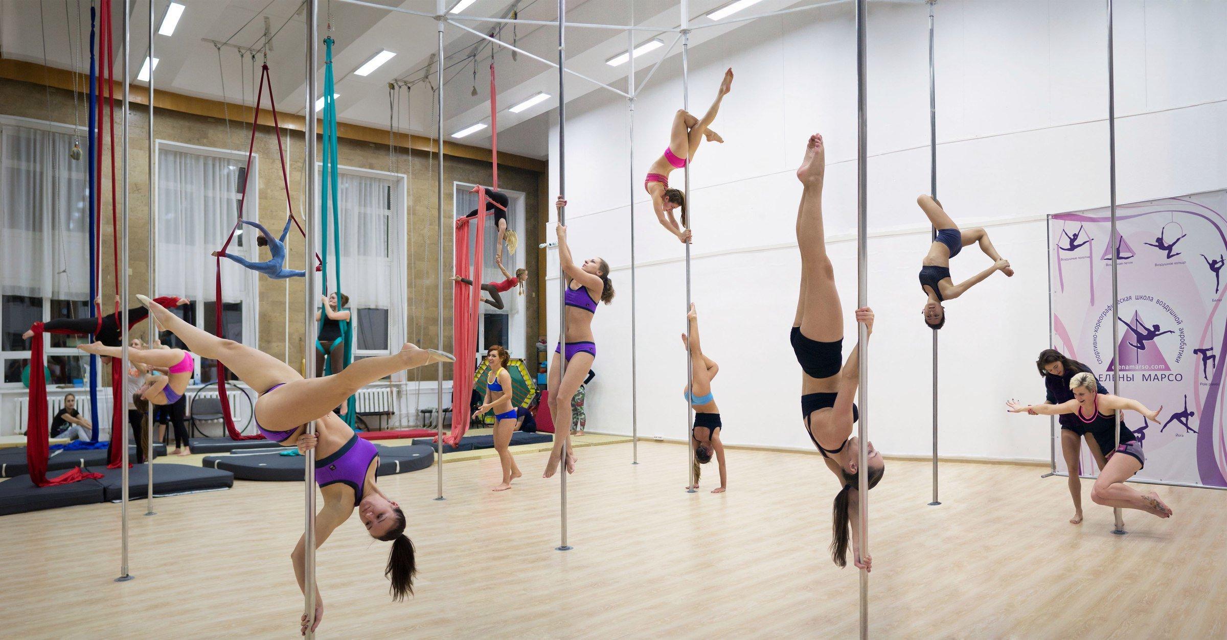 фотография Спортивно-хореографическая школа воздушной акробатики Елены Марсо на метро Новослободская