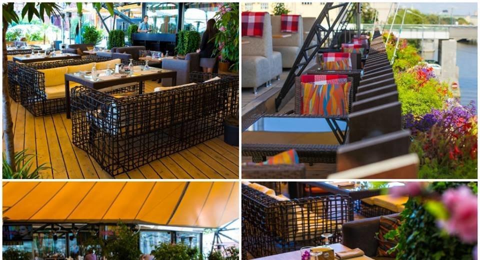 Фотогалерея - Ресторан Shakti Terrace на Болотной набережной