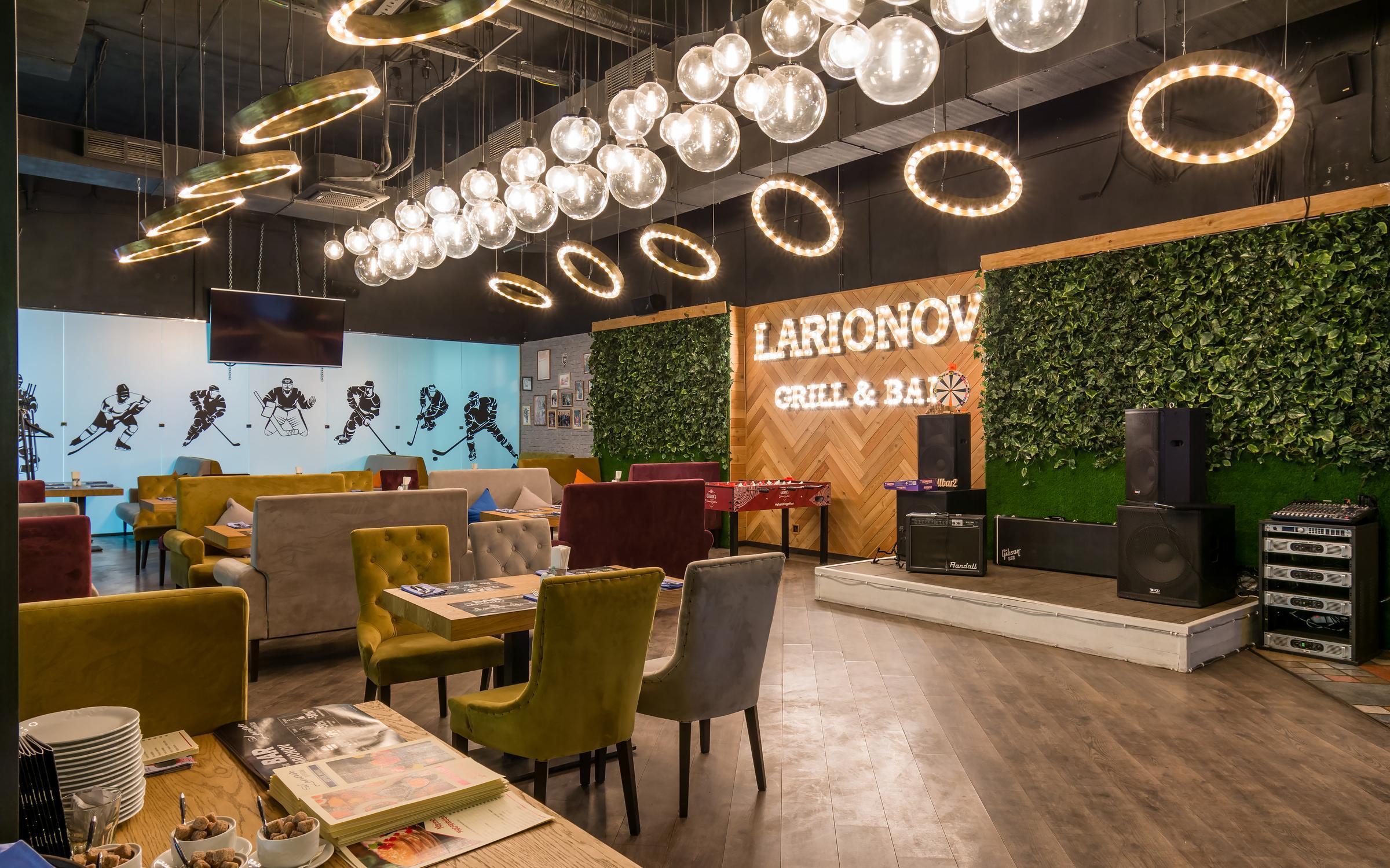 фотография Ресторана Larionov Grill & Bar в Северном Чертаново