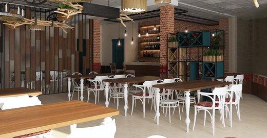 фотография Грузинского кафе Пурмарили
