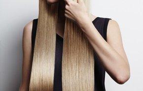 фотография Выпрямление длинных волос